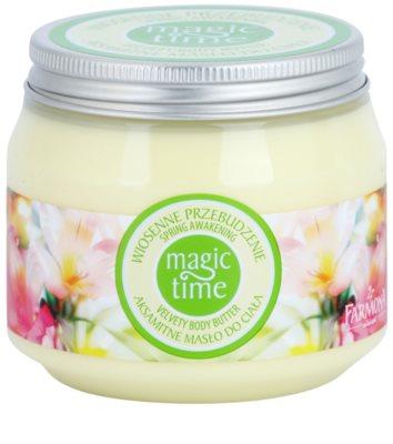Farmona Magic Time Spring Awakening шовкове масло для тіла для живлення та зволоження