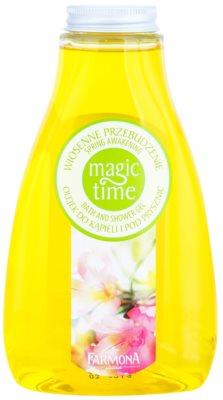 Farmona Magic Time Spring Awakening gel de dus si baie cu efect de nutritiv