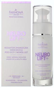Farmona Neuro Lift+ krem przeciw zmarszczkom okolice oczu i usta 2