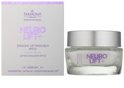 Farmona Neuro Lift+ liftingová emulze SPF 15 1