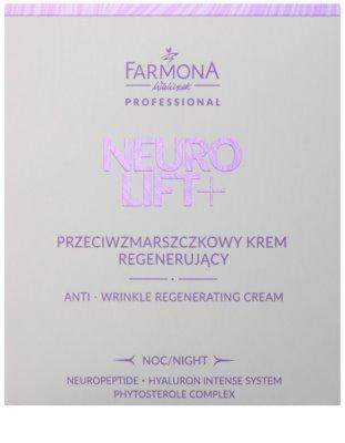 Farmona Neuro Lift+ crema de noche regeneradora  antiarrugas 2