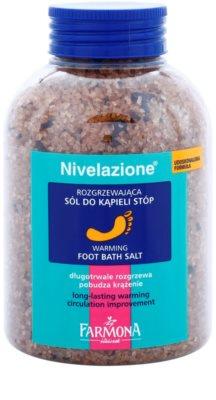 Farmona Nivelazione soľ do kúpeľa na nohy s hrejivým účinkom