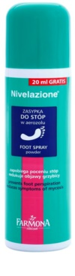 Farmona Nivelazione lábpúder spray -ben