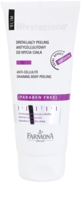Farmona Nivelazione Slim gel de ducha exfoliante contra la celulitis