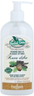 Farmona Herbal Care Oak Bark emulsão cremosa para higiene íntima