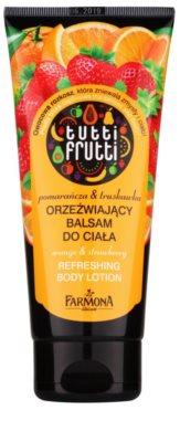 Farmona Tutti Frutti Orange & Strawberry освіжаюче молочко для тіла