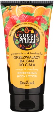 Farmona Tutti Frutti Orange & Strawberry erfrischende Bodymilch 1