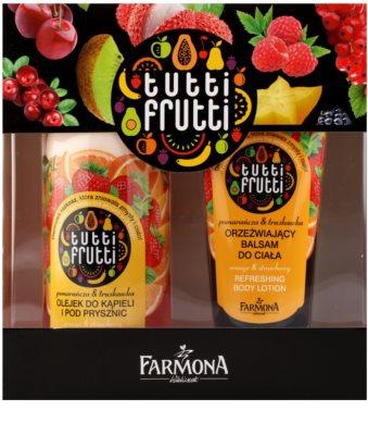 Farmona Tutti Frutti Orange & Strawberry set cosmetice I.