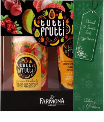 Farmona Tutti Frutti Orange & Strawberry Kosmetik-Set  I. 1