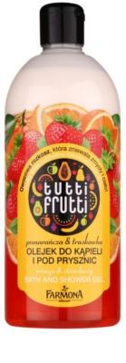 Farmona Tutti Frutti Orange & Strawberry gelasto olje za prhanje in kopel