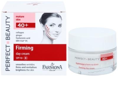 Farmona Perfect Beauty 40+ učvrstitvena dnevna krema SPF 10 1