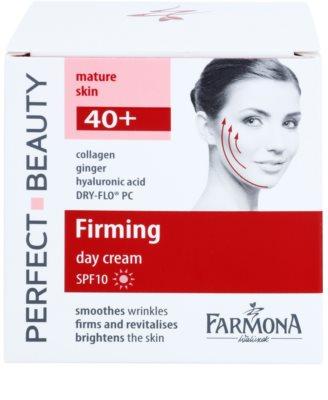 Farmona Perfect Beauty 40+ učvrstitvena dnevna krema SPF 10 2