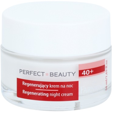 Farmona Perfect Beauty 40+ crema de noche con efecto regenerador