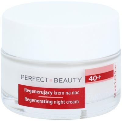 Farmona Perfect Beauty 40+ creme de noite com efeito regenerador