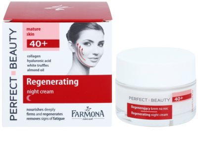 Farmona Perfect Beauty 40+ crema de noapte efect regenerator 1