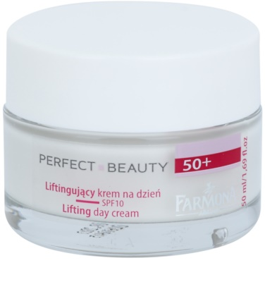 Farmona Perfect Beauty 50+ crema de día con efecto lifting SPF 10
