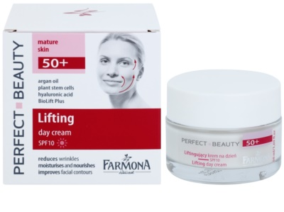 Farmona Perfect Beauty 50+ Straffende Tagescreme SPF 10 1