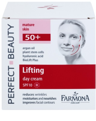 Farmona Perfect Beauty 50+ Straffende Tagescreme SPF 10 2