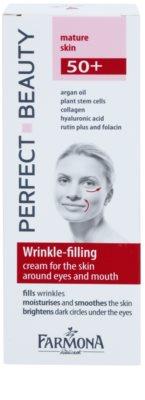 Farmona Perfect Beauty 50+ vyplňující krém na vrásky v okolí očí a rtů 2