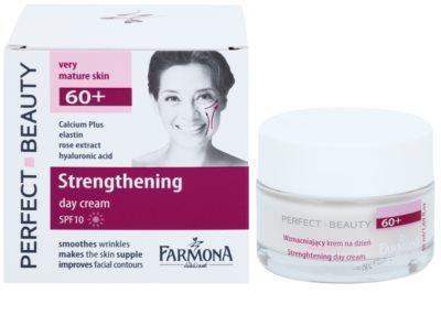 Farmona Perfect Beauty 60+ crema de día para recuperar la firmeza de la piel SPF 10 1