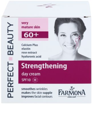 Farmona Perfect Beauty 60+ crema de día para recuperar la firmeza de la piel SPF 10 2