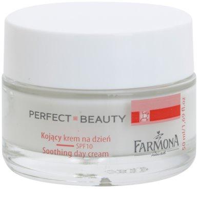 Farmona Perfect Beauty Capillary Skin beruhigende Tagescreme gegen Rötungen SPF 10