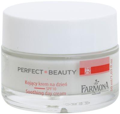 Farmona Perfect Beauty Capillary Skin crema de zi impotriva inrosirii SPF 10