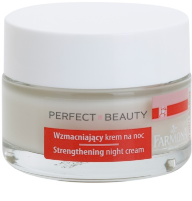 Farmona Perfect Beauty Capillary Skin Beruhigende Nachtcreme für empfindliche Haut mit der Neigung zum Erröten