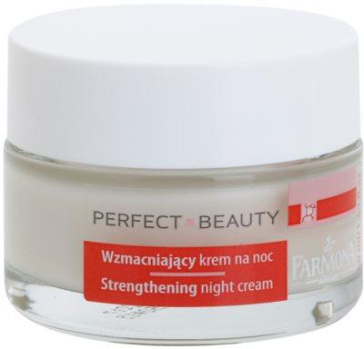 Farmona Perfect Beauty Capillary Skin zklidňující noční krém pro citlivou pleť se sklonem ke zčervenání