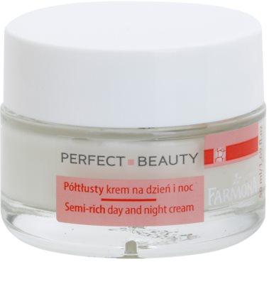 Farmona Perfect Beauty Capillary Skin crema de zi si de noapte pentru piele sensibila cu tendinte de inrosire