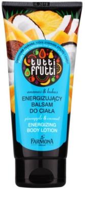 Farmona Tutti Frutti Pineapple & Coconut loção corporal energizante