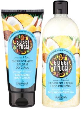 Farmona Tutti Frutti Pineapple & Coconut lote cosmético I. 1