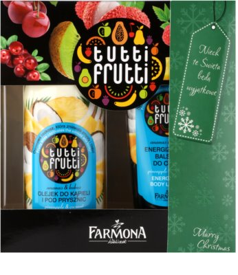 Farmona Tutti Frutti Pineapple & Coconut Kosmetik-Set  I.