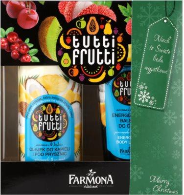 Farmona Tutti Frutti Pineapple & Coconut zestaw kosmetyków I.