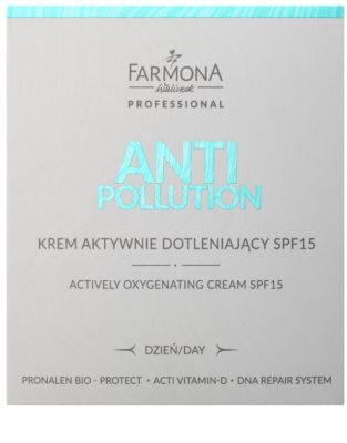 Farmona Anti Pollution Crema activa oxigenanta SPF 15 2