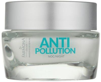 Farmona Anti Pollution Crema de noapte anti-oxidanta efect regenerator