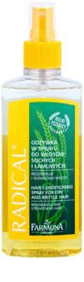 Farmona Radical Dry & Brittle Hair acondicionador en spray con efecto regenerador