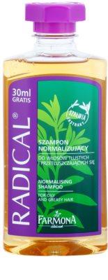 Farmona Radical Oily Hair sampon pentru normalizare pentru spălare frecventă