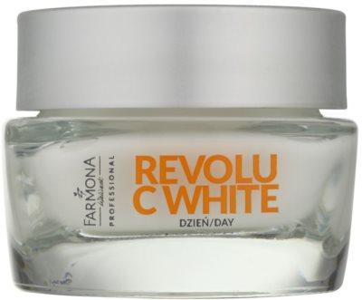Farmona Revolu C White denní bělicí krém pro sjednocení barevného tónu pleti SPF 30