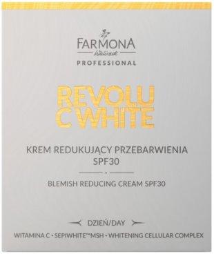 Farmona Revolu C White denní bělicí krém pro sjednocení barevného tónu pleti SPF 30 2