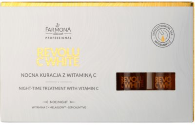 Farmona Revolu C White ser cu efect de albire cu vitamina C 3