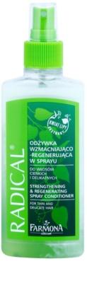 Farmona Radical Thin & Delicate Hair balsam spay in doua faze efect regenerator