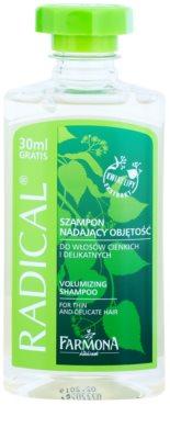 Farmona Radical Thin & Delicate Hair зміцнюючий шампунь для обьему
