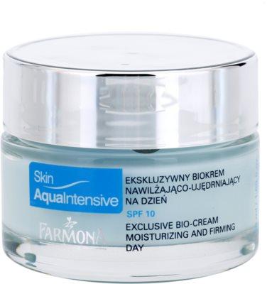 Farmona Skin Aqua Intensive vlažilna dnevna krema za učvrstitev kože SPF 10