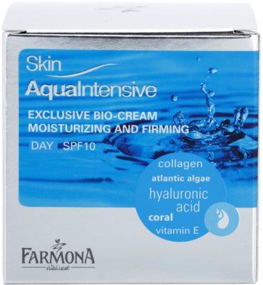 Farmona Skin Aqua Intensive creme de dia hidratante e reafirmante SPF 10 2
