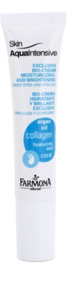 Farmona Skin Aqua Intensive feuchtigkeitsspendende und aufhellende Pflege für die Augenlider und Ringe unter den Augen