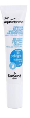 Farmona Skin Aqua Intensive vlažilna in posvetlitvena nega za veke in kolobarje pod očmi