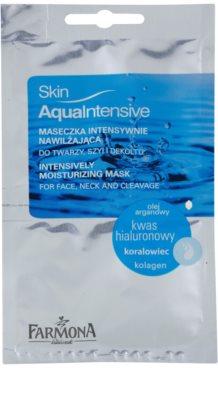 Farmona Skin Aqua Intensive masca pentru hidratare intensa