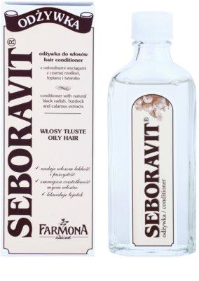 Farmona Seboravit bezoplachová kúra pro mastné vlasy a vlasovou pokožku 1