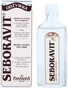 Farmona Seboravit spülfreie Kur für fettiges Haar und Kopfhaut 1